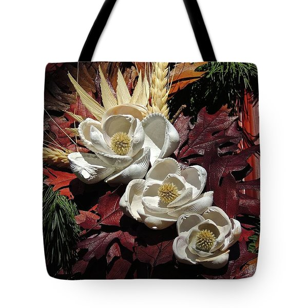 Tote Bag featuring the photograph Holiday Shells by Don Moore
