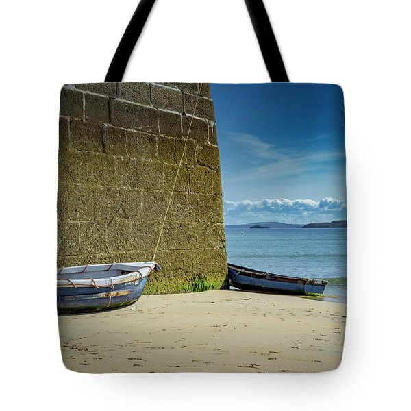 Holidays In St Ives Cornwall Tote Bag