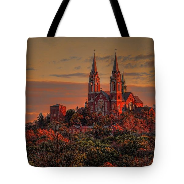 Holy Hill Sunrise Tote Bag