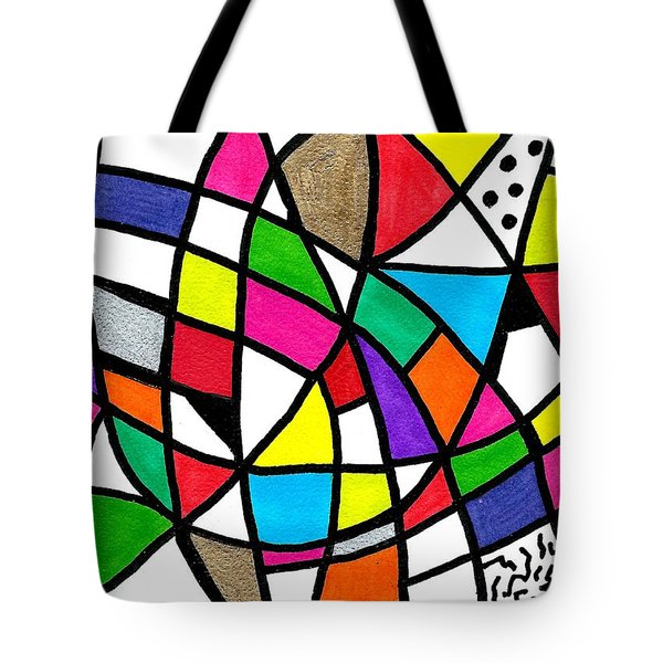 Homage To The Muses 3 Tote Bag