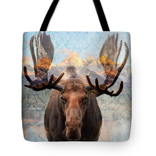Hometown Moose Tote Bag
