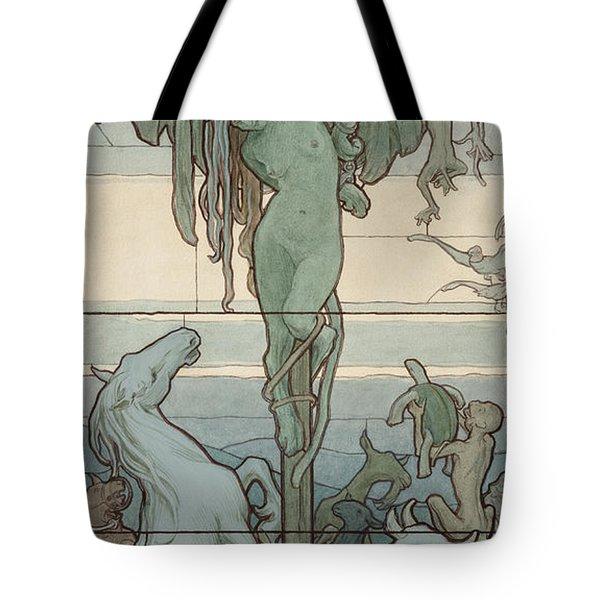 Homo Homini Lupus, 1901 Tote Bag