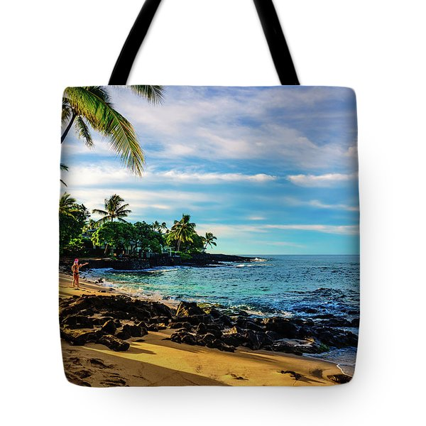 Honl Beach Tote Bag