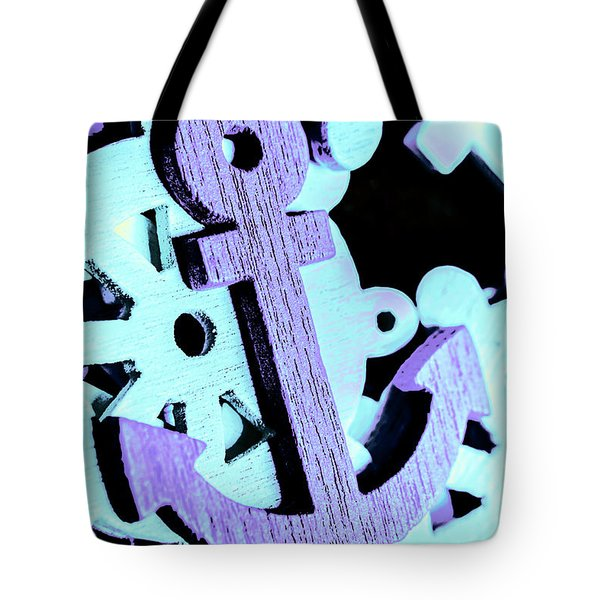 Hooked On Sea Travel Tote Bag