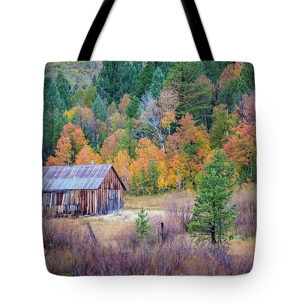 Hope Valley Cabin Tote Bag