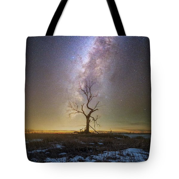 Tote Bag featuring the photograph Hopeless He Stays  by Aaron J Groen