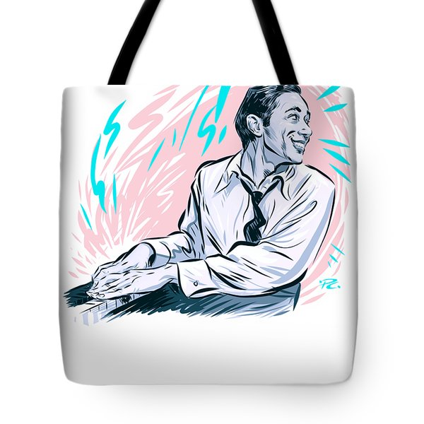 Horace Silver - An Illustration By Paul Cemmick Tote Bag