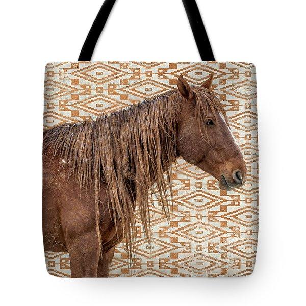 Horse Blanket Tote Bag