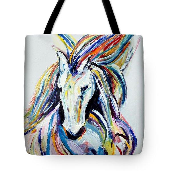 Horse Twist Tote Bag
