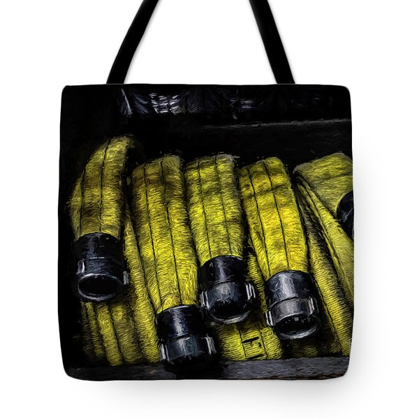 Hose Rack Tote Bag