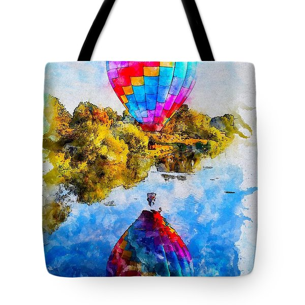Hot Air Balloon Tour Tote Bag
