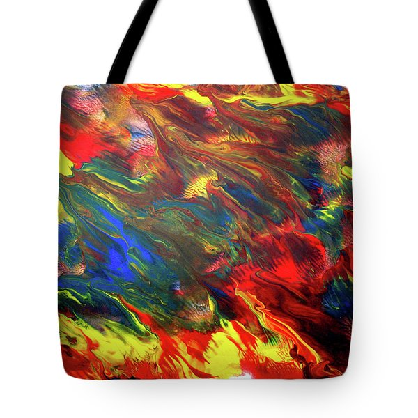 Hot Colors Coolling Tote Bag