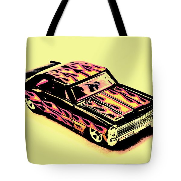 Hot Wheels Tote Bag