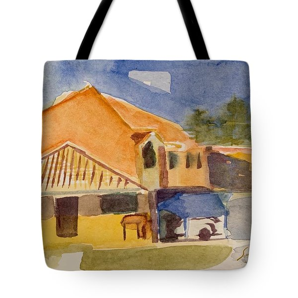 House Across The Way Tote Bag