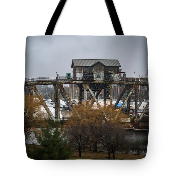 House Bridge Tote Bag