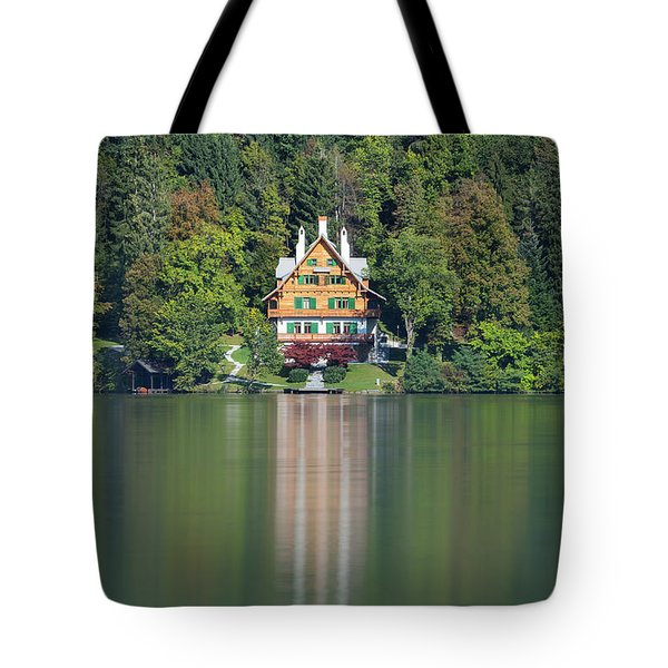 House On The Lake Tote Bag