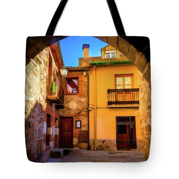 Houses Through The Arch Tote Bag