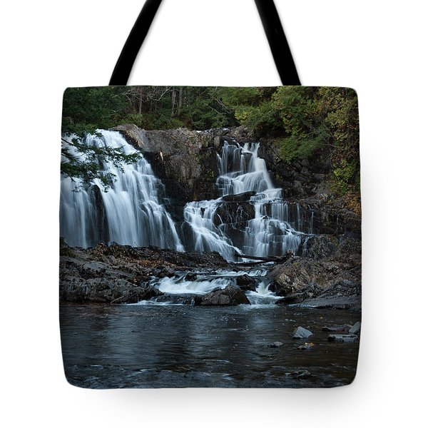 Tote Bag featuring the photograph Houston Brook Falls by Rick Hartigan