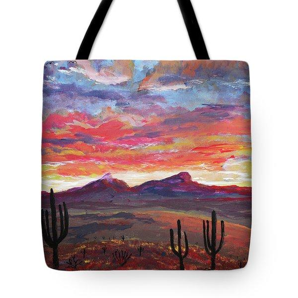How I See Arizona Tote Bag