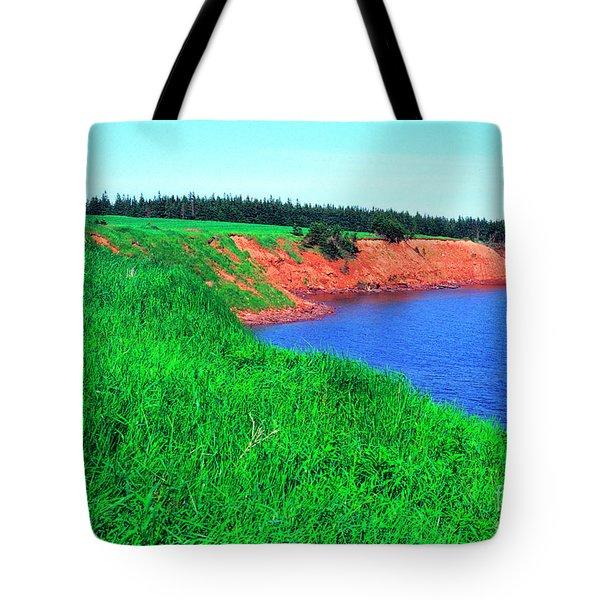 Howe Point Prince Edward Island Tote Bag