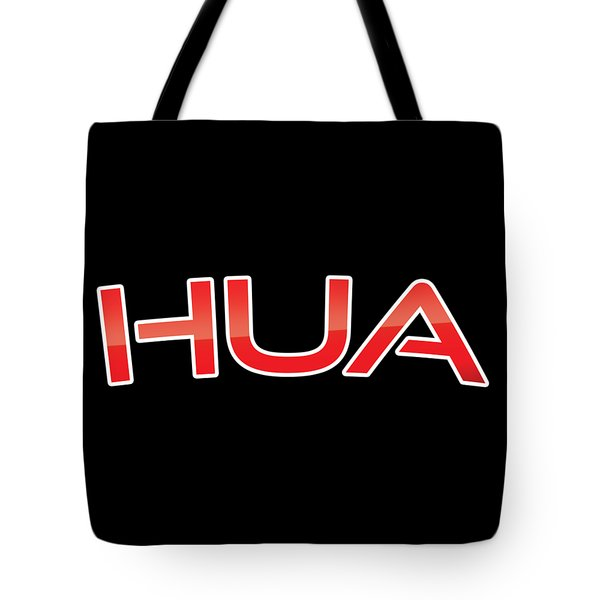Tote Bag featuring the digital art Hua by TintoDesigns