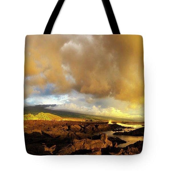 Hualalai Sunset Tote Bag