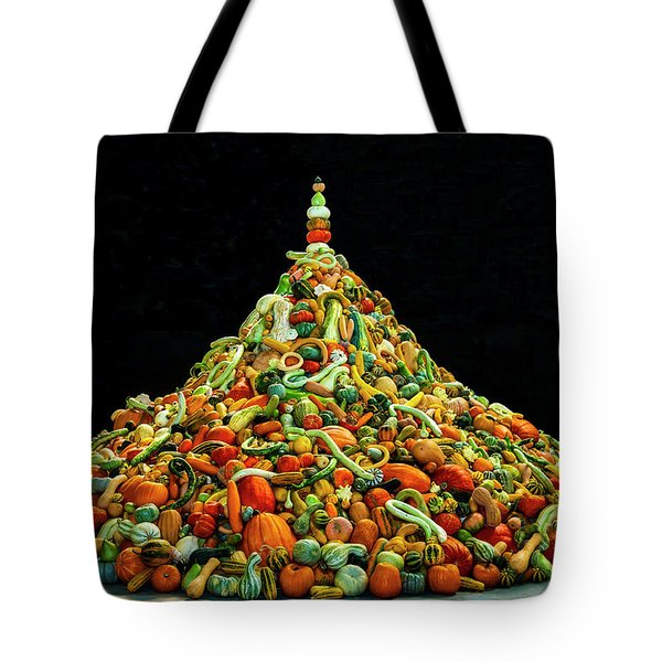 Huge Mountain Of Gourds Tote Bag