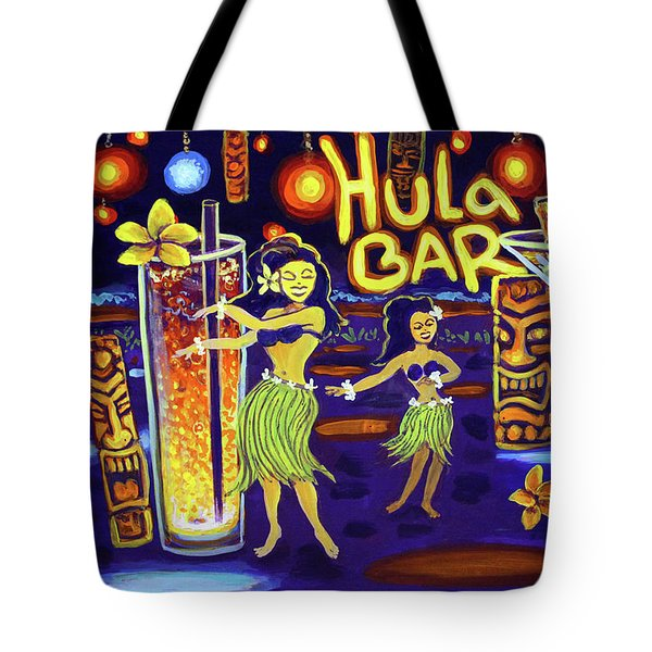 Hula Bar Tote Bag