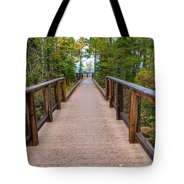 Hunter's Point At Copper Harbor Tote Bag