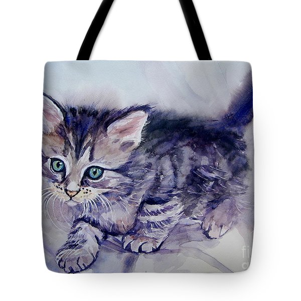 Hunting For A Mouse Tote Bag