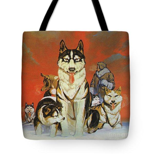 Huskies Tote Bag