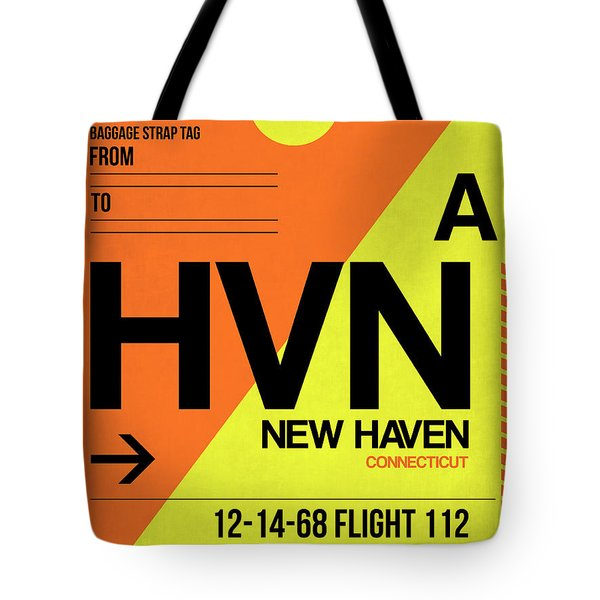 Hvn New Haven Luggage Tag I Tote Bag