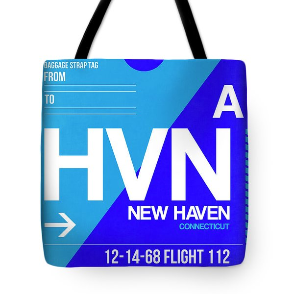 Hvn New Haven Luggage Tag II Tote Bag