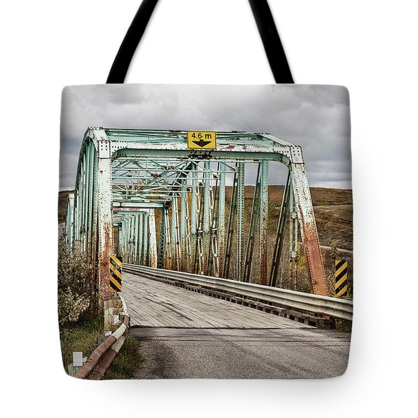 Tote Bag featuring the photograph Hwy 552 Bridge by Brad Allen Fine Art