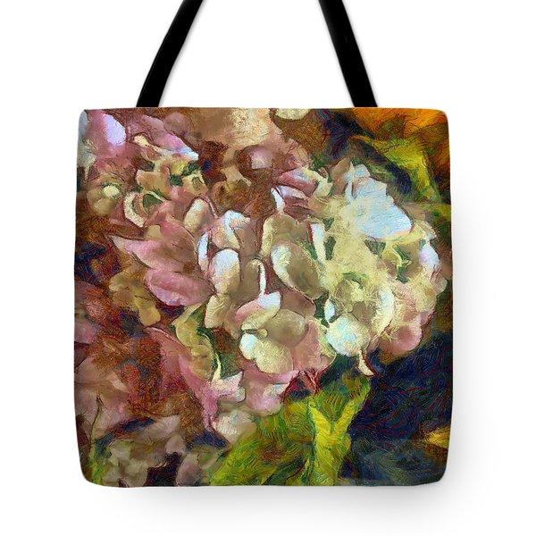 Hydrangea Love Tote Bag