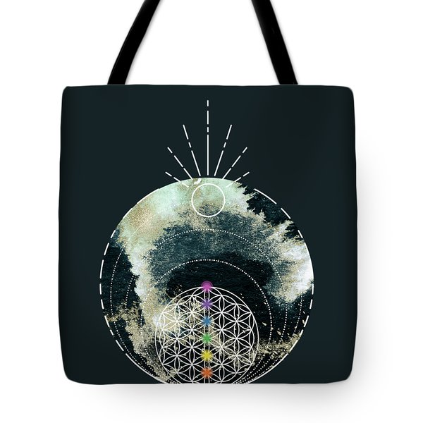 Tote Bag featuring the digital art I Am by Bee-Bee Deigner