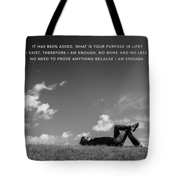 I Am Enough - Part 4 Tote Bag