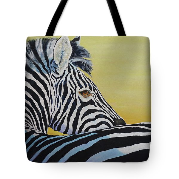 I Caught You Looking At Me Tote Bag