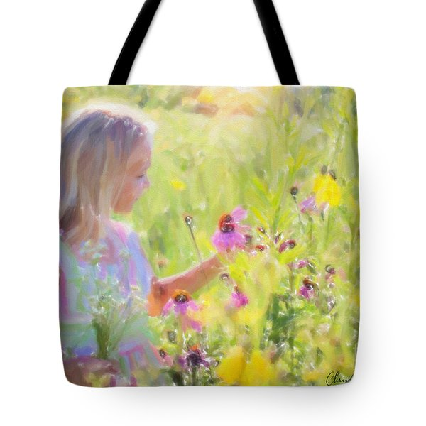 I Would Pick More Daisies ... Tote Bag