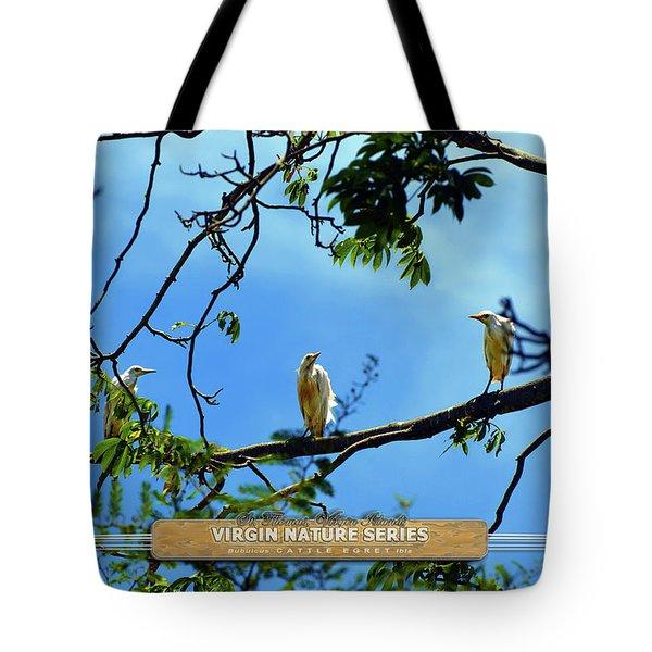 Ibis Perch - Virgin Nature Series Tote Bag