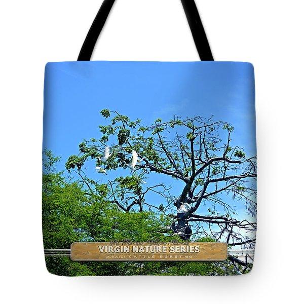 Ibis Risen - Virgin Nature Series Tote Bag