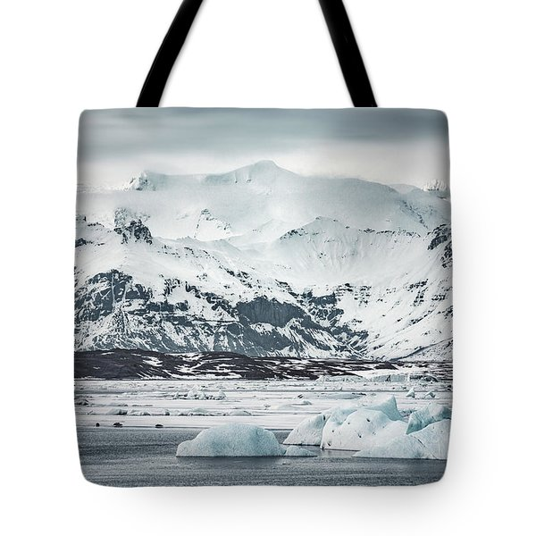 Ice Encounters Tote Bag