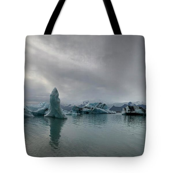 Ice Lagoon Tote Bag