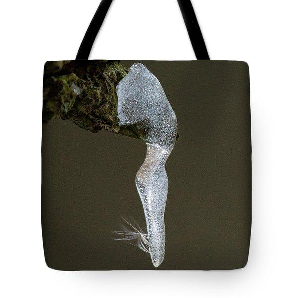 Ice Dancer Tote Bag