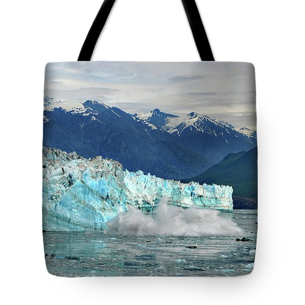 Iceberg Splash Hubbard Glacier Tote Bag