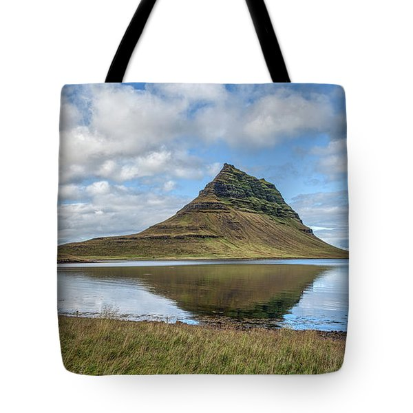 Iceland Mountain Tote Bag