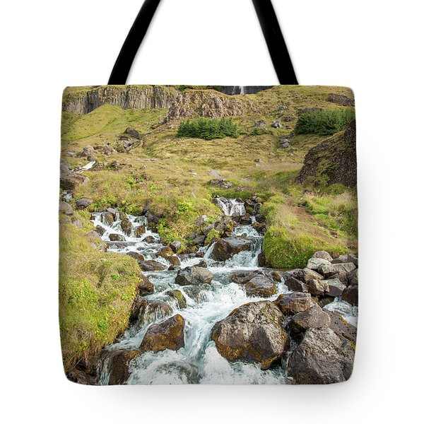 Iceland Waterfall Tote Bag