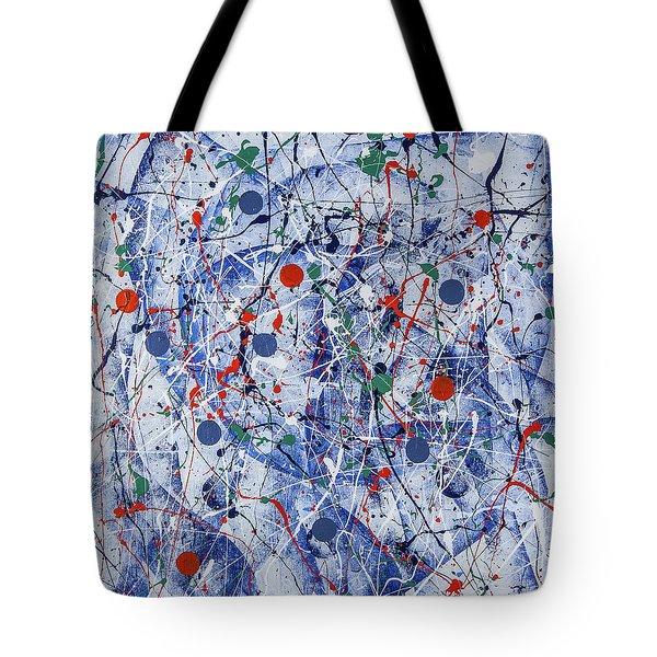 Icy Universe Tote Bag