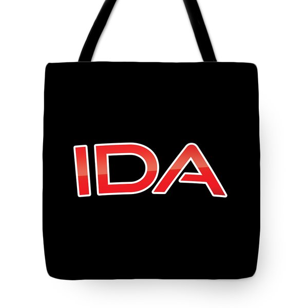 Tote Bag featuring the digital art Ida by TintoDesigns