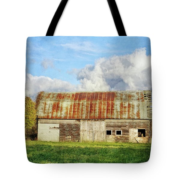 If These Forgotten Walls Could Talk Tote Bag